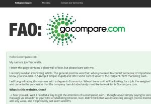 FAO Go Compare