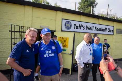 Taff's Well FC v Cardiff City
