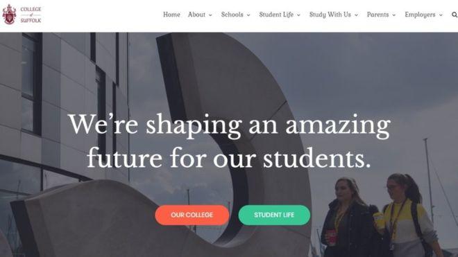 College of Suffolk scam